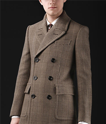 <p>Casaco <strong>Burberry</strong> Chesterfield.</p>