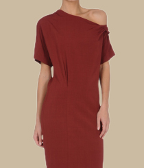 <p>Vestido comprido <strong>Trussardi</strong></p>